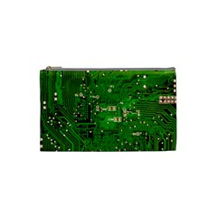 Circuit Board Cosmetic Bag (Small)