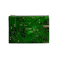 Circuit Board Cosmetic Bag (medium)