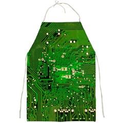 Circuit Board Full Print Aprons