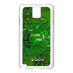 Circuit Board Samsung Galaxy Note 3 N9005 Case (white)