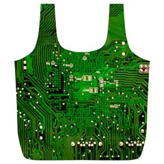 Circuit Board Full Print Recycle Bags (l)