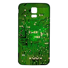 Circuit Board Samsung Galaxy S5 Back Case (white)