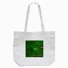 Circuit Board Tote Bag (white)