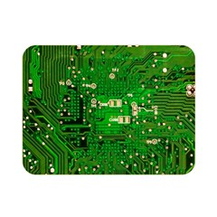 Circuit Board Double Sided Flano Blanket (Mini)