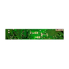 Circuit Board Flano Scarf (mini)