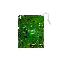 Circuit Board Drawstring Pouches (XS)