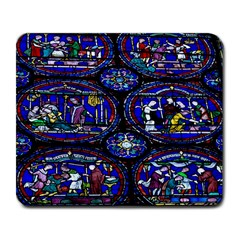 Church Window Canterbury Large Mousepads