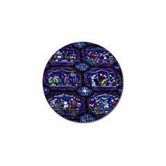 Church Window Canterbury Golf Ball Marker (10 Pack)