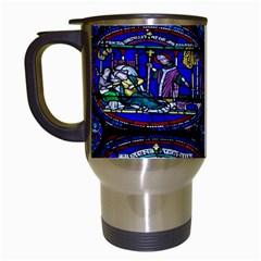 Church Window Canterbury Travel Mugs (White)