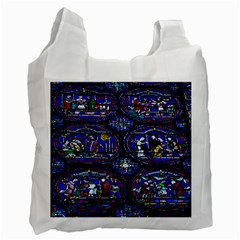 Church Window Canterbury Recycle Bag (One Side)