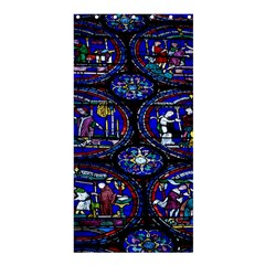 Church Window Canterbury Shower Curtain 36  X 72  (stall)