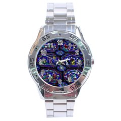 Church Window Canterbury Stainless Steel Analogue Watch