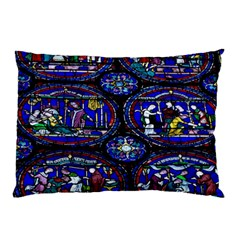 Church Window Canterbury Pillow Case (Two Sides)