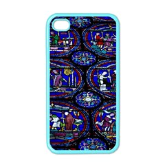 Church Window Canterbury Apple iPhone 4 Case (Color)