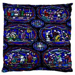 Church Window Canterbury Large Cushion Case (Two Sides)