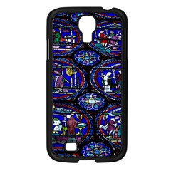 Church Window Canterbury Samsung Galaxy S4 I9500/ I9505 Case (Black)