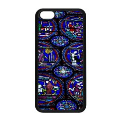 Church Window Canterbury Apple Iphone 5c Seamless Case (black)