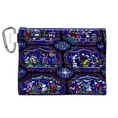 Church Window Canterbury Canvas Cosmetic Bag (xl)