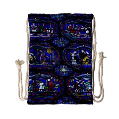 Church Window Canterbury Drawstring Bag (small)