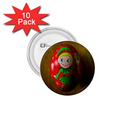 Christmas Wreath Ball Decoration 1.75  Buttons (10 pack)