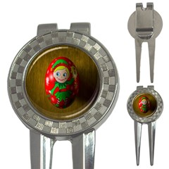 Christmas Wreath Ball Decoration 3 In 1 Golf Divots