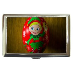 Christmas Wreath Ball Decoration Cigarette Money Cases
