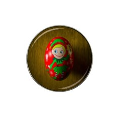 Christmas Wreath Ball Decoration Hat Clip Ball Marker (4 Pack)
