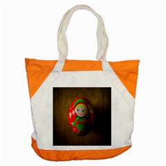 Christmas Wreath Ball Decoration Accent Tote Bag