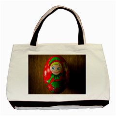 Christmas Wreath Ball Decoration Basic Tote Bag (Two Sides)