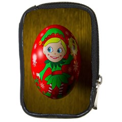 Christmas Wreath Ball Decoration Compact Camera Cases