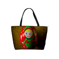 Christmas Wreath Ball Decoration Shoulder Handbags