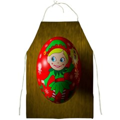 Christmas Wreath Ball Decoration Full Print Aprons