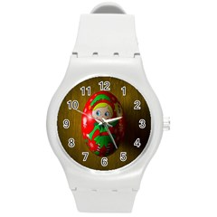 Christmas Wreath Ball Decoration Round Plastic Sport Watch (m)
