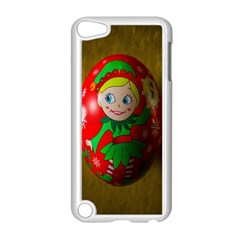Christmas Wreath Ball Decoration Apple iPod Touch 5 Case (White)