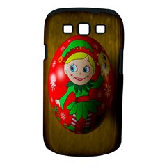 Christmas Wreath Ball Decoration Samsung Galaxy S Iii Classic Hardshell Case (pc+silicone)