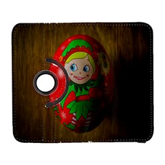 Christmas Wreath Ball Decoration Galaxy S3 (flip/folio)