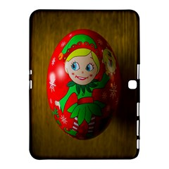 Christmas Wreath Ball Decoration Samsung Galaxy Tab 4 (10.1 ) Hardshell Case