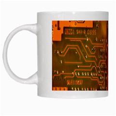Circuit White Mugs