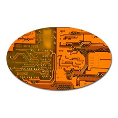 Circuit Oval Magnet