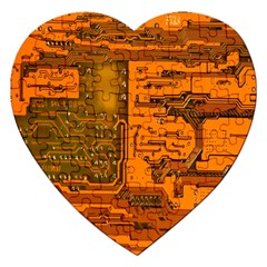 Circuit Jigsaw Puzzle (Heart)