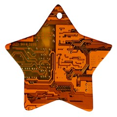 Circuit Star Ornament (Two Sides)