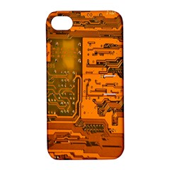 Circuit Apple iPhone 4/4S Hardshell Case with Stand