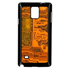 Circuit Samsung Galaxy Note 4 Case (Black)
