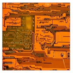 Circuit Large Satin Scarf (square)