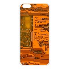Circuit Apple Seamless iPhone 6 Plus/6S Plus Case (Transparent)
