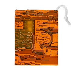 Circuit Drawstring Pouches (Extra Large)