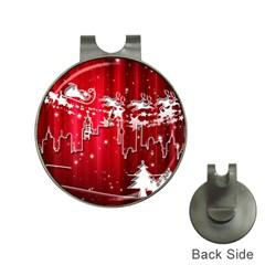 City Nicholas Reindeer View Hat Clips With Golf Markers