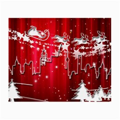 City Nicholas Reindeer View Small Glasses Cloth (2-Side)