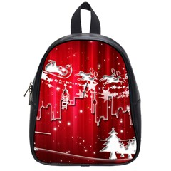 City Nicholas Reindeer View School Bags (Small)