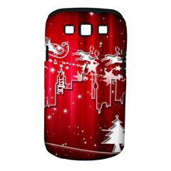 City Nicholas Reindeer View Samsung Galaxy S Iii Classic Hardshell Case (pc+silicone)